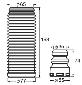 VENTO: 1.9 TDI/2.0 BV-FSI-T-TDI/2.5 R5/55 MM. (08…)